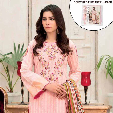 Amna Sohail Summer Galore Embroidered Lawn 3 Piece Un-Stitched Suit - 4454 B