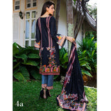Anum Printed Lawn 3 Piece Un-Stitched Suit Vol 1 - 4 A
