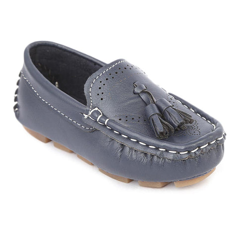 Boys Loafers Shoes- Blue
