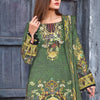Saqaffat Digital Printed Dhanak 3 Pcs Un-Stitched Suit - 05