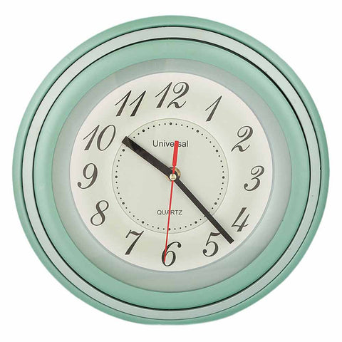 Analog Wall Clock 5000 - Green