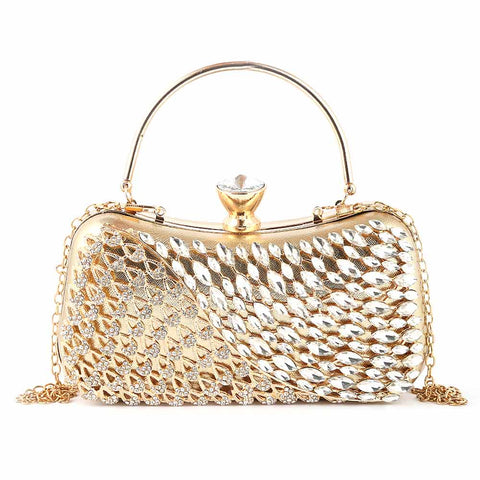 Women's Bridal Clutch (5120) - Gold