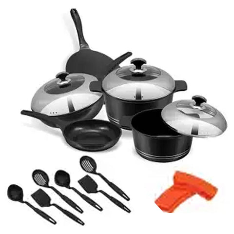 Sonex Non-Stick Cookware 16 Pieces - Splendor Mini