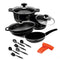 Sonex Non-Stick Cookware 15 Pieces - Deluxe Supreme