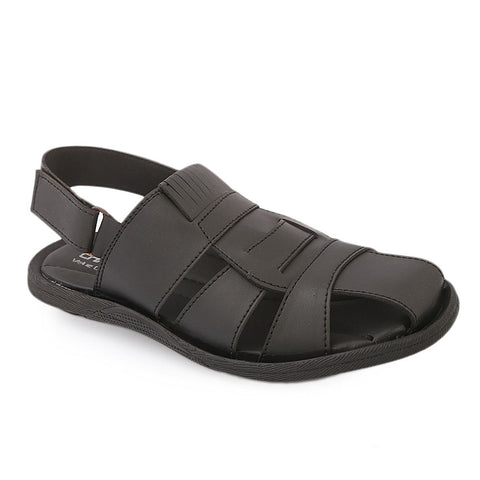 Men's Roman Sandal (5514) - Black