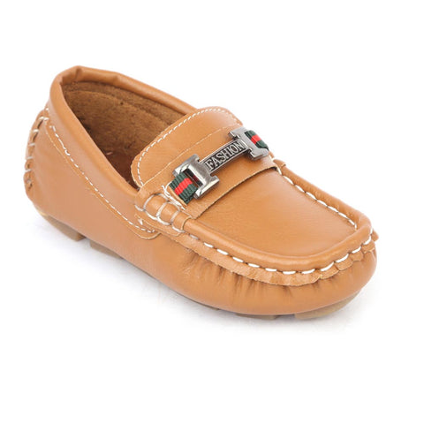 Boys Loafers Shoes - Mustard