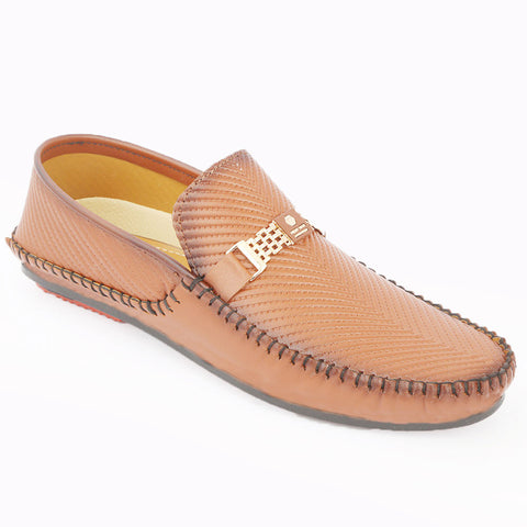 Men's Loafer Shoes (608) - Mustard