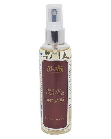 Al-Arij Body Mist Orient Tiger Oud 125ml - test-store-for-chase-value