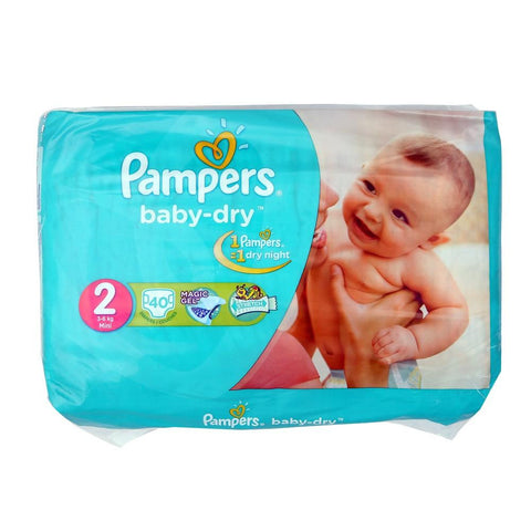 Pampers Jumboo Pack 1-2Mini 40 Pcs - test-store-for-chase-value