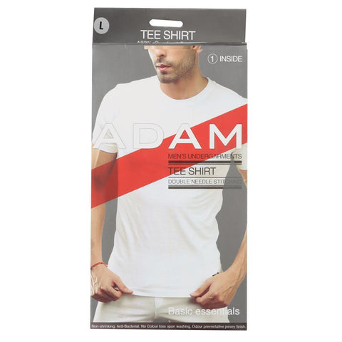 Adam Tee Shirt - White - test-store-for-chase-value