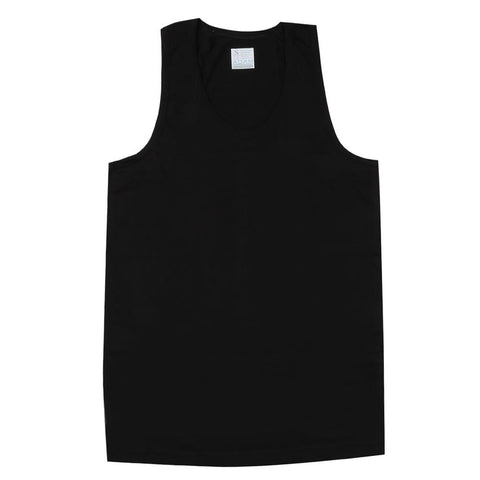 Adam Casual Vest Sando - Black - test-store-for-chase-value