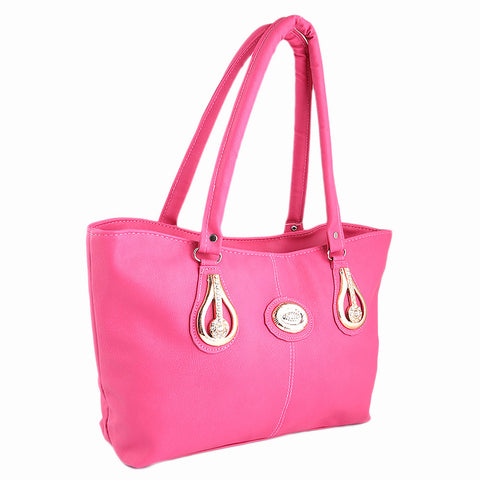 Women's Handbag (6833) - Pink - test-store-for-chase-value