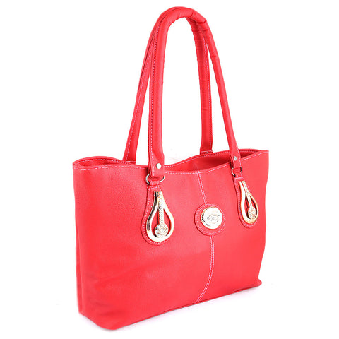 Women's Handbag (6833) - Red - test-store-for-chase-value