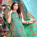 Mona Liza Embroidered Lawn 3 Piece Un-Stitched Suit - 06