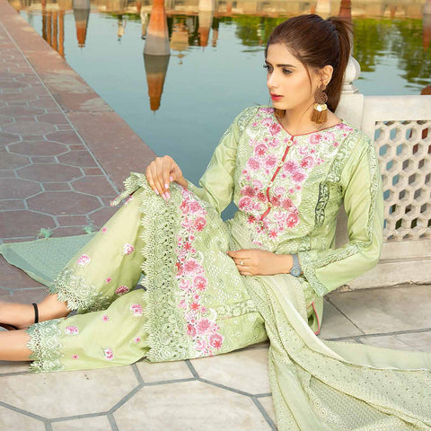 Shan-E-Mughal Embroidered Lawn Suit - 6 - test-store-for-chase-value