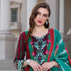 Monsoon Printed Lawn 3 Piece Un-Stitched Suit Vol 2 - 6 A