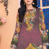 Saqaffat Digital Printed Dhanak 3 Pcs Un-Stitched Suit - 07
