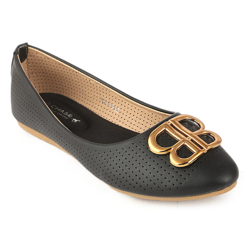 Women's Fancy Pumps (7061-H42) - Black - test-store-for-chase-value
