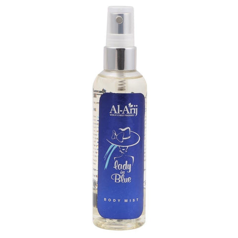 Al-Arij Body Mist Blue Lady 125ml - test-store-for-chase-value