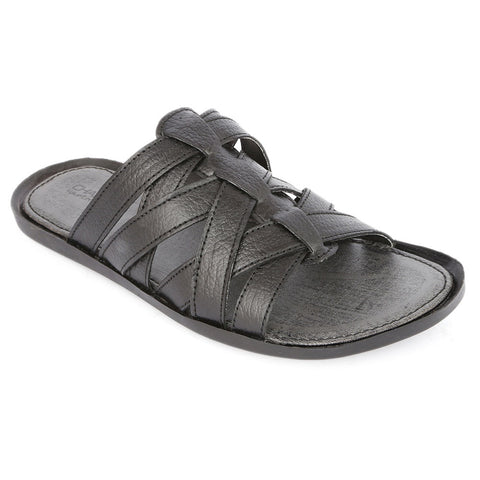 Men's Slippers (707) - Black