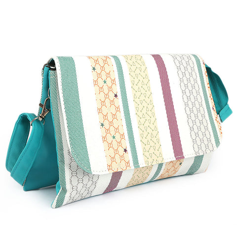 Women's Shoulder Bag (7527) - Sea Green - test-store-for-chase-value