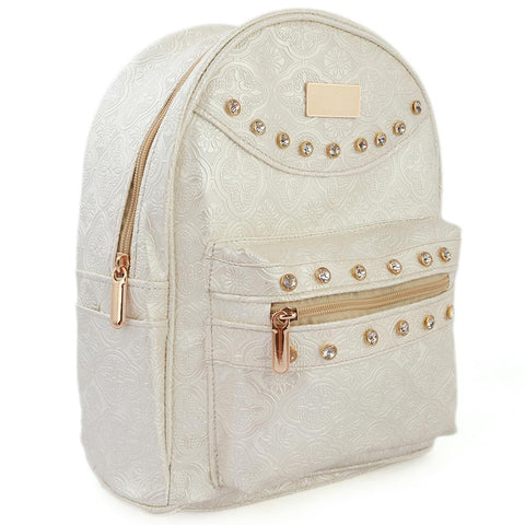 Women's Backpack (7565) - Off-White