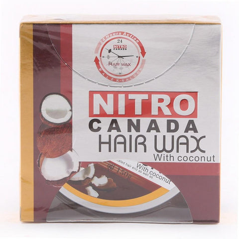 Nitro Canada Hair Wax Coconut - test-store-for-chase-value