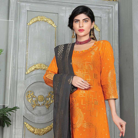 Mahoor Embroidered Broshia Lawn 3 Piece Un-Stitched Suit - 07