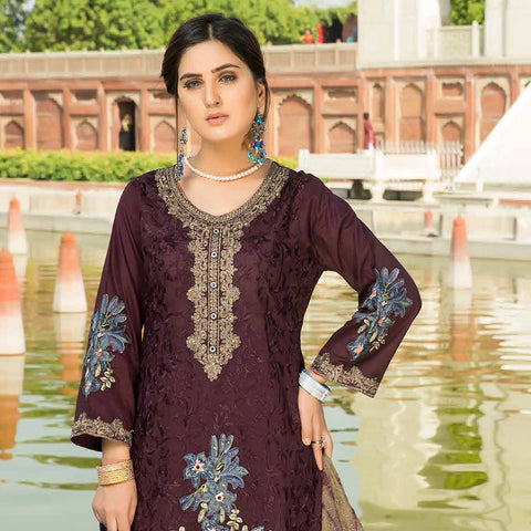 Shan-E-Mughal Embroidered Lawn Suit - 7 - test-store-for-chase-value