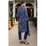 Anum Printed Lawn 3 Piece Un-Stitched Suit Vol 1 - 7 C
