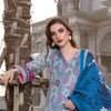 Monsoon Printed Lawn 3 Piece Un-Stitched Suit Vol 2 - 7 C