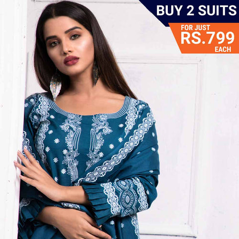 Sahil Printed Lawn Festive Suit Vol 08 - 8 - test-store-for-chase-value