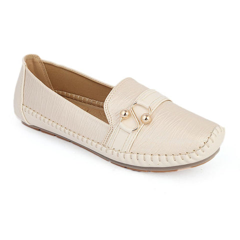 Women's Casual Shoes (8057-2) - Beige