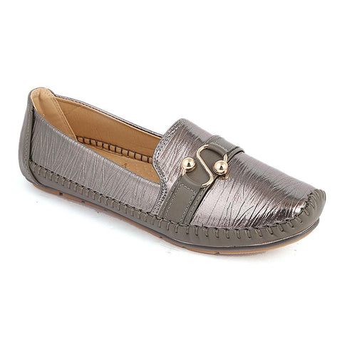 Women's Casual Shoes (8057-2) - Grey