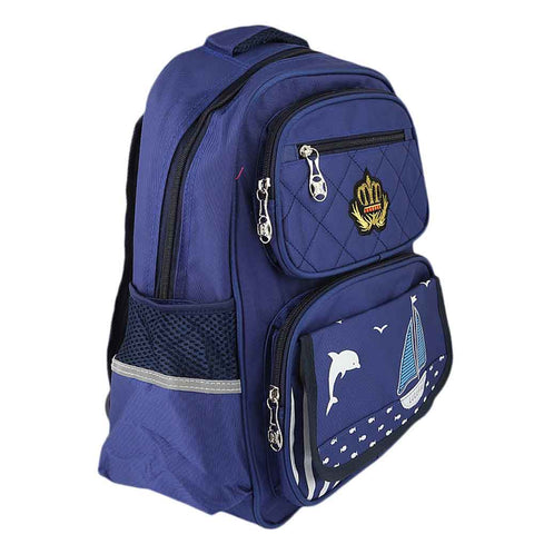 Kids School Bag (8229) - Royal Blue