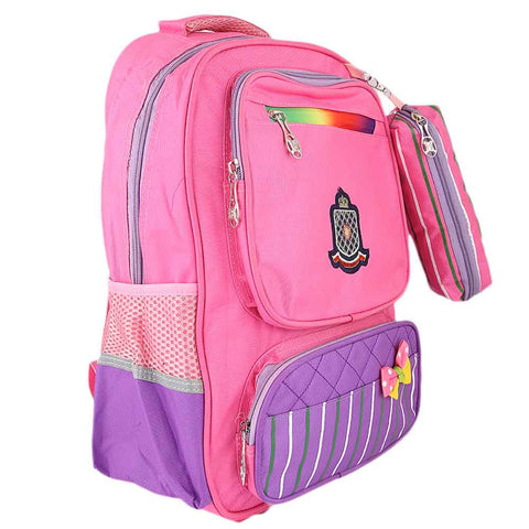 Kids School Bag (8230) - Pink