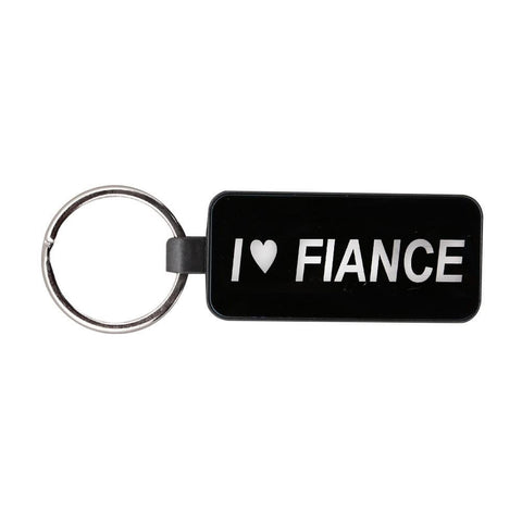 I Love Fiance Key Chain - test-store-for-chase-value