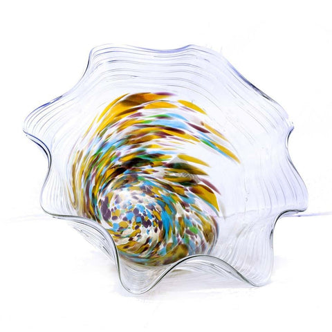 ABSTRACT GLASS VASE (GV-AV-016) - test-store-for-chase-value