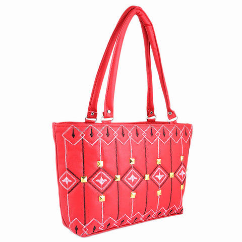 Women's Handbag (879) - Red - test-store-for-chase-value