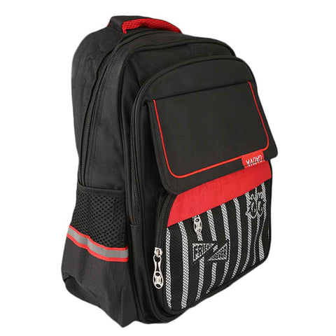 Kids School Bag (8828) - Black
