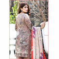 Mona Liza Embroidered Lawn 3 Piece Un-Stitched Suit - 08