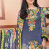 Saqaffat Digital Printed Dhanak 3 Pcs Un-Stitched Suit - 08