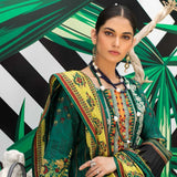Signature Icon Printed Embroidered Lawn 3 Piece Un-Stitched Suit - 8 B