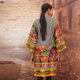 Chase Value Centre Printed Khaddar Un-Stitched Kurti Vol 3 - 08