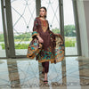 Monsoon Printed Lawn 3 Piece Un-Stitched Suit Vol 2 - 8 B
