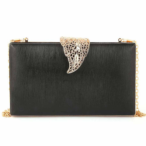 Women's Fancy Clutch (9206) - Black