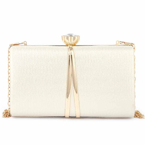 Women's Fancy Clutch (9211) - Gold