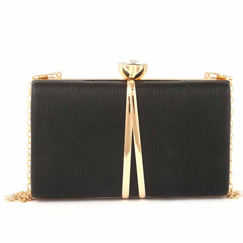 Women's Fancy Clutch (9211) - Black