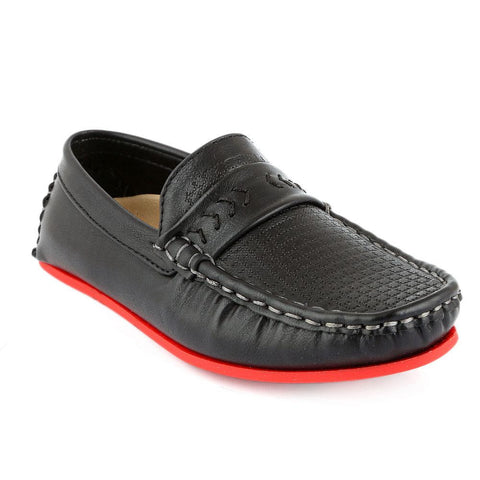 Eminent Loafer For Boys (9565) - Black - test-store-for-chase-value
