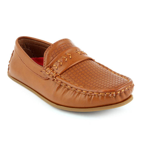 Eminent Loafer For Boys (9565) - Brown - test-store-for-chase-value